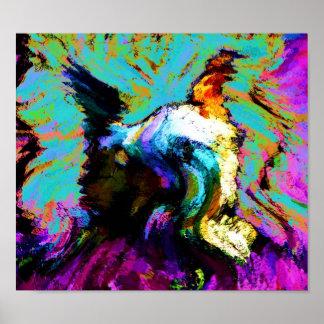 gallo de lucy impresiones