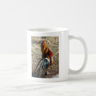 Gallo de Phoenix de detrás Taza De Café