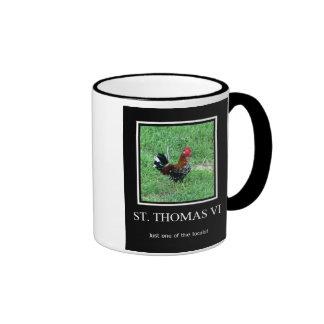 Gallo de St Thomas Tazas