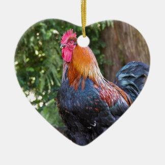 Gallo Ornamentos De Navidad