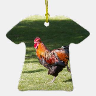 Gallo Ornamento Para Arbol De Navidad