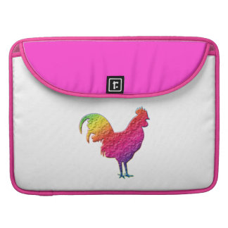 Gallo del arco iris fundas macbook pro