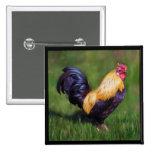 Gallo del gallo de Estuardo del arte del pollo Pin