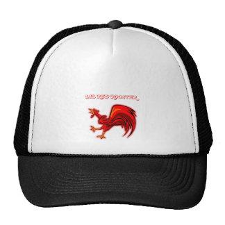 Gallo del rojo de Lil Gorras De Camionero