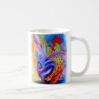 Gallo elegante taza clásica