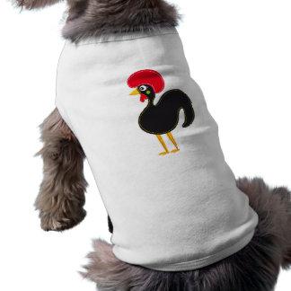 Gallo famoso de Barcelos 01 Playera Sin Mangas Para Perro