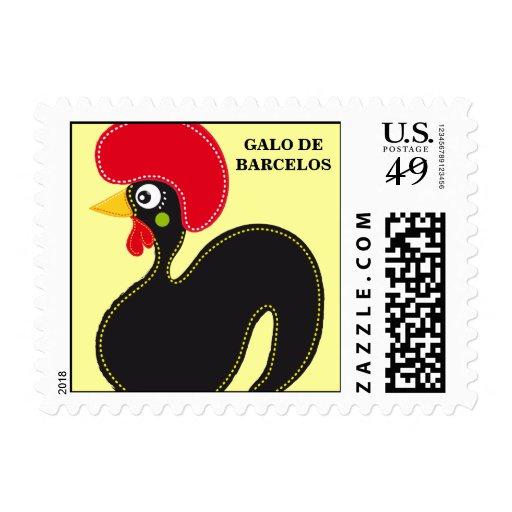 Gallo famoso de Barcelos 01 Franqueo