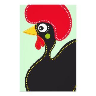 Gallo famoso de Barcelos 01 Tarjeta Publicitaria