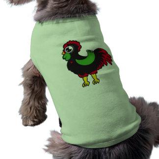 Gallo famoso de Barcelos 03 Camisa De Mascota