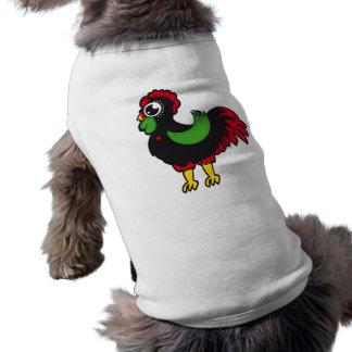 Gallo famoso de Barcelos Nr 03 Playera Sin Mangas Para Perro