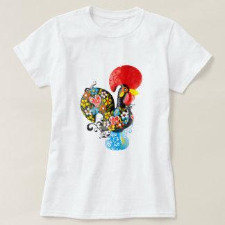 Gallo famoso de Barcelos Nr 06 - edición floral Camisas