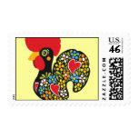 Gallo famoso de Barcelos Nr 06 Franqueo
