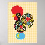 Gallo famoso de Barcelos Nr 06 Posters