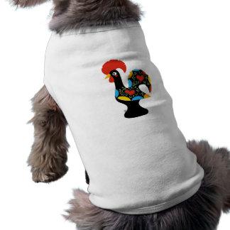 Gallo famoso de Barcelos Nr 09 Playera Sin Mangas Para Perro