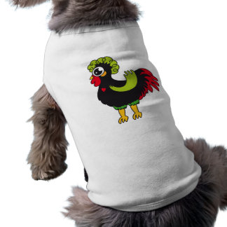 Gallo famoso de Barcelos Nr 5 Playera Sin Mangas Para Perro