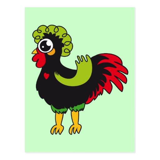 Gallo famoso de Barcelos Nr 5 Tarjetas Postales