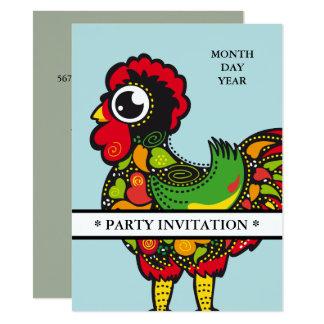 Gallo famoso de la invitación de Barcelos Nr 04