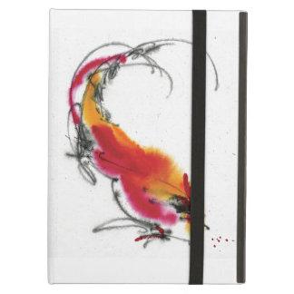 Gallo inusual. Caligrafía y watercolor.