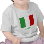 Gallo Italian Flag T Shirt