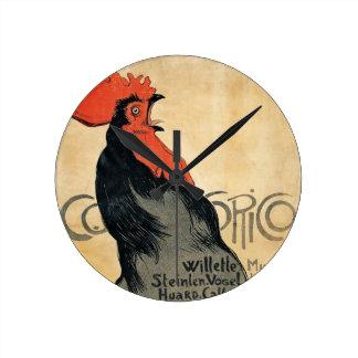 """Gallo que canta, reloj de """"Cocurico"""""""