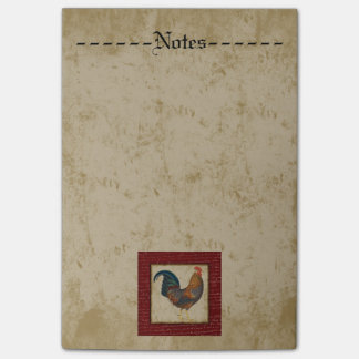 Gallo rojo nota post-it®