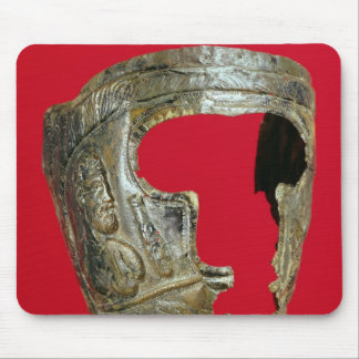 Gallo-Roman gladiator s mask Mouse Pads