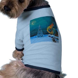 gallo camisas de mascota