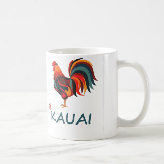 Gallo salvaje hawaiano de Kauai Taza