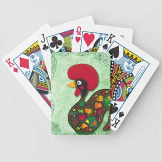 Gallo típico de Barcelos Baraja Cartas De Poker