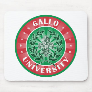 Gallo University Italian Mouse Pads