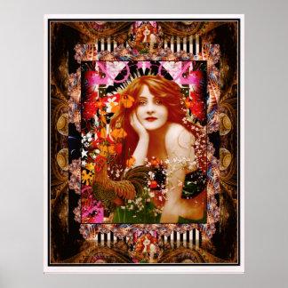 Gallo-UNO-Doodle-Doo, cuál es una dama To Do Posters