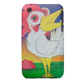 Gallo-UNO-Doodle-Doo iPhone 3 Cárcasas