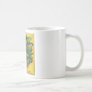 Gallo valeroso taza de café
