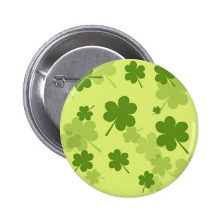 GALLONS GREEN CLOVERS PATTERN BACKGROUNDS LAYERED BUTTON