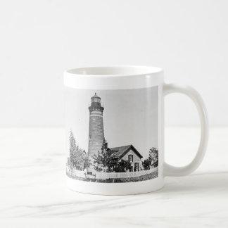 Galloo Island Lighthouse Classic White Coffee Mug