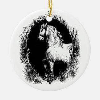 Gallop Ceramic Ornament