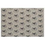 gallop horse print fabric