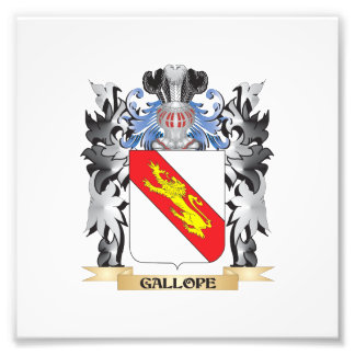 Gallope Coat of Arms - Family Crest Photo Print