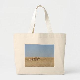 Galloping Antelope Canvas Bags