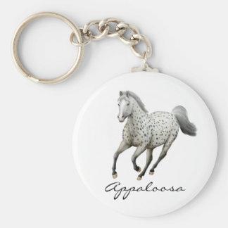 Galloping Appaloosa Horse Keychain