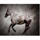 "Galloping Appy Statuette<br><div class=""desc"">Cool photo sculptre of a galloping horse</div>"
