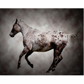 Galloping Appy Statuette