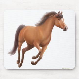 Galloping Bay Horse Mousepad
