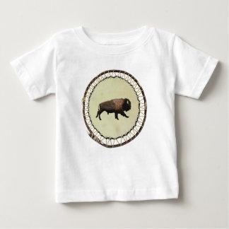 Galloping Bison Baby T-Shirt