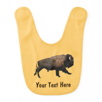Galloping Bison Bib