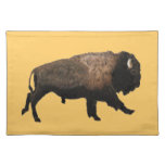 Galloping Bison Cloth Placemat