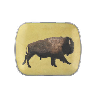 Galloping Bison Jelly Belly Tins