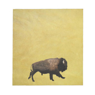 Galloping Bison Notepad