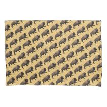 Galloping Bison Pillowcase