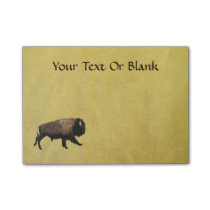 Galloping Bison Post-it Notes